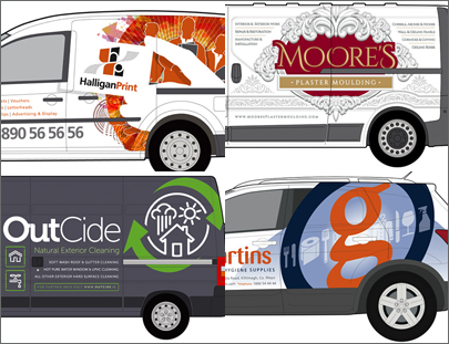 Vehicle Graphics Designs Gallery