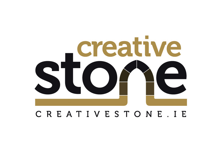 Creative Stone logo design refresh