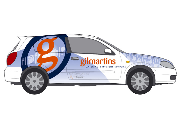 Gilmartins vehicle graphics design 3