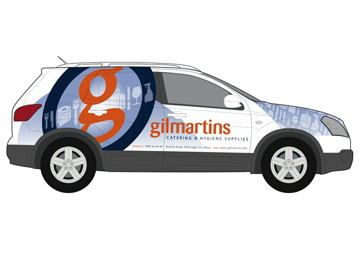 Gilmartins vehicle graphics design 7