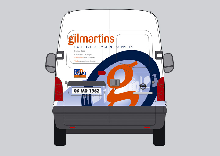 Gilmartins van wrap design 12