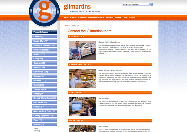 Gilmartins ecommerce design 3