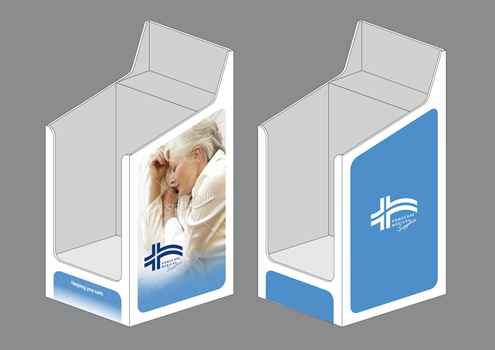 Homecare Medial Supplies point of sale design