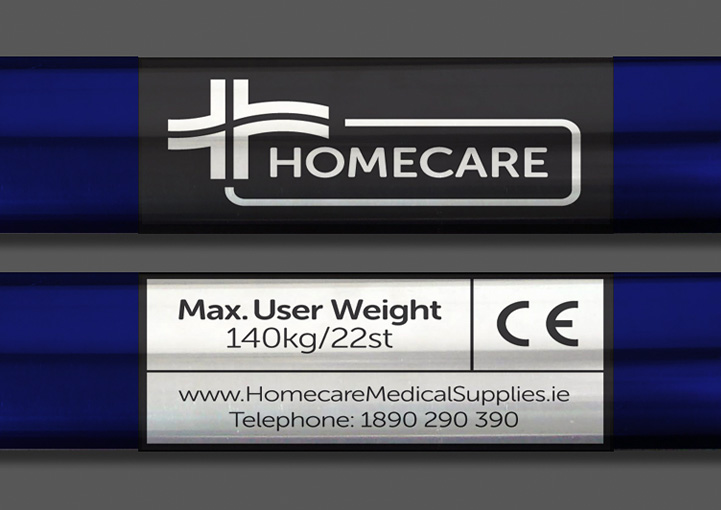 Homecare Medial Supplies product sticker design
