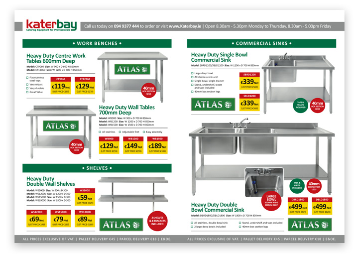Katerbay trade offer price list design inside