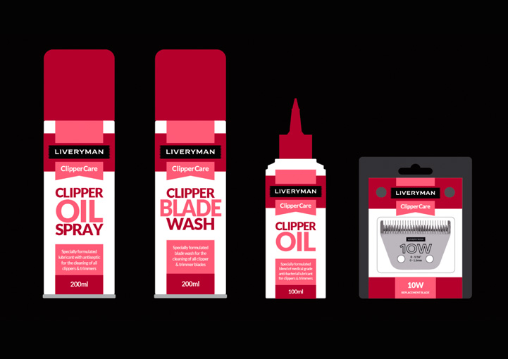 Liveryman ClipperCare packaging design