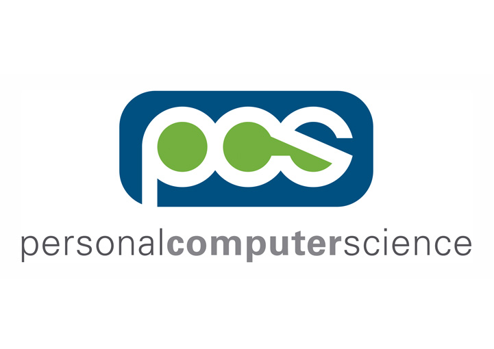 Personal Computer Science logo design