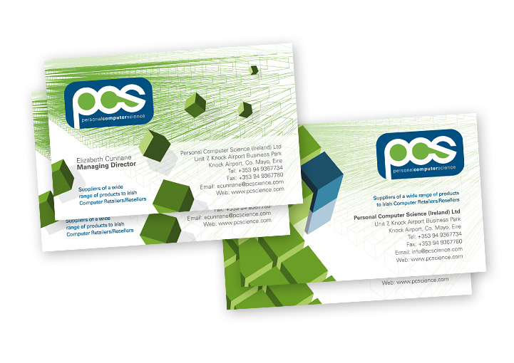 Personal Computer Science business card designs